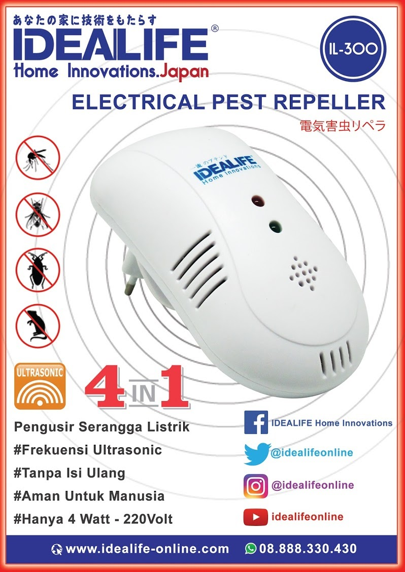 IDEALIFE IL - 300 Pest Repeller